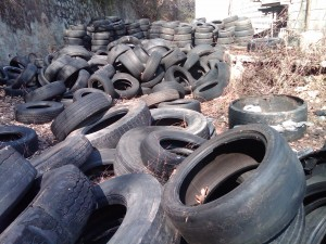 pile of tyres 2